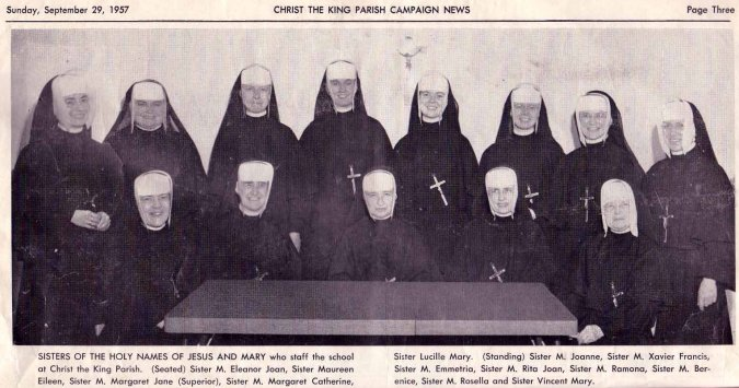 Holy Name Sisters